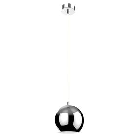 Lampa wisząca sufitowa zwis Oslo KR381/1L żyrandol kula kulka chrom