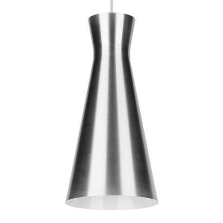 Lampa sufitowa wisząca zwis nad stół bar VERONE 12 srebrna - POWYSTAWOWA (1)