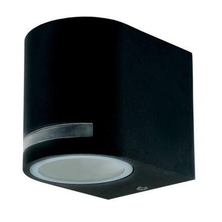 Kinkiet zewnętrzny Lampa oprawa elewacyjna ścienna Quazar 8 czarny  (1)