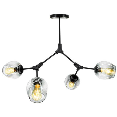 Żyrandol Lampa sufitowa wisząca Boston 1962/4 Modern Loft ruchome ramiona (1)