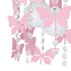 Lampa sufitowa wisząca ANGELICA Żyrandol różowy do pokoju dziecięcego dla dziewczynki (2)