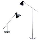 Lampa stołowa biurkowa Pablo biurowa duża regulowana czarna chrom (9)