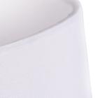 Lampa stołowa Vicky Lampka nocna dotykowa duża abażur tkanina chrom (5)