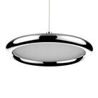 LAMPA LED wisząca sufitowa żyrandol zwis RING FERRO 8W okrąg pierścień chrom (6)