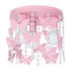 Lampa sufitowa wisząca ANGELICA Żyrandol różowy do pokoju dziecięcego dla dziewczynki (1)