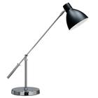Lampa stołowa biurkowa Pablo biurowa duża regulowana czarna chrom (7)
