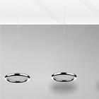 LAMPA LED wisząca sufitowa żyrandol zwis RING FERRO 8W okrąg pierścień chrom (2)
