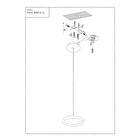 LAMPA LED wisząca sufitowa żyrandol zwis RING FERRO 8W okrąg pierścień chrom (8)